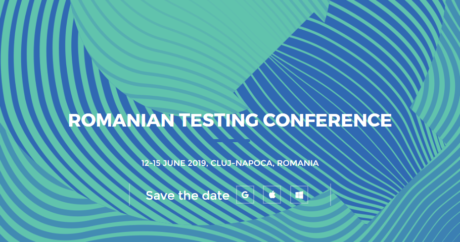 Romanian Testing Conference 2019
