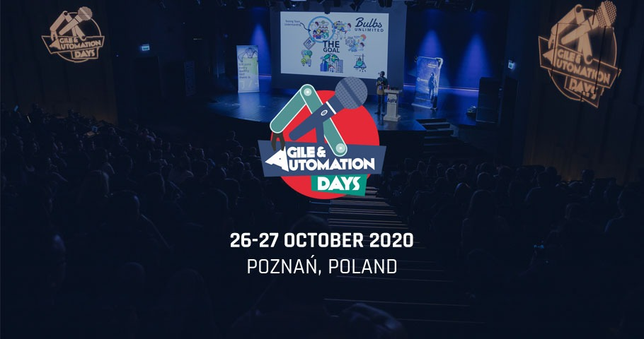 Agile & Automation Days 2020 ogłoszone!