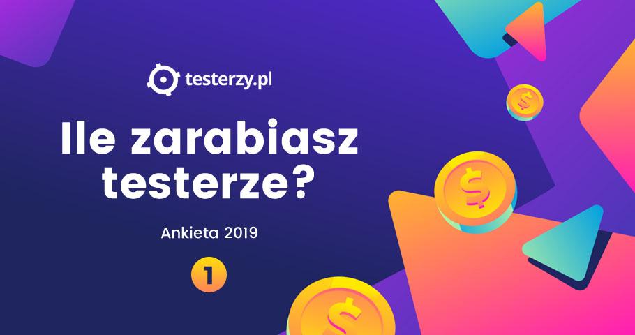 Analiza zarobków testerów - 2019. Część I.