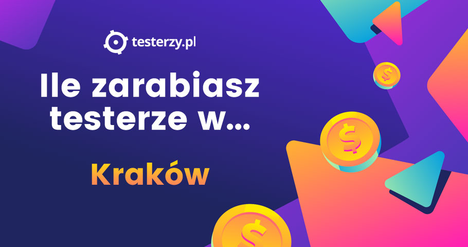 Analiza zarobków testerów - 2019. Kraków