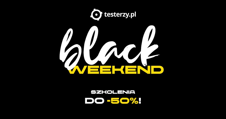 Black Weekend Sale 2020!