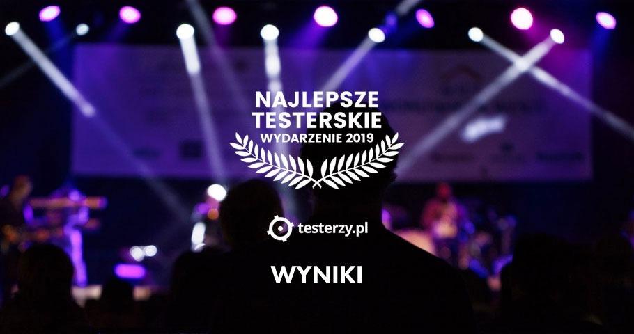 Najlepsze wydarzenie testerskie 2019 r. - WYNIKI