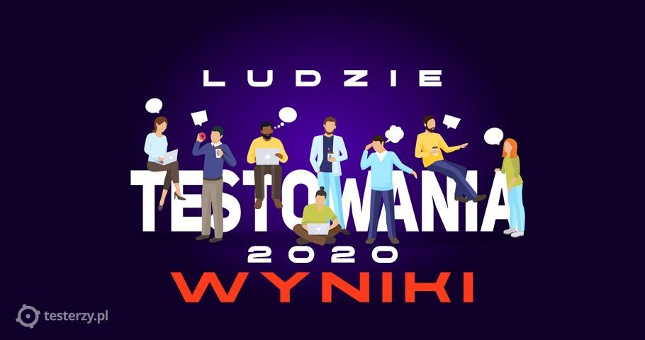 Ludzie testowania 2020 - wyniki