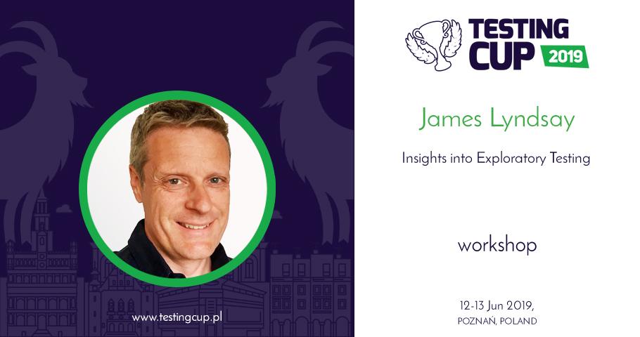 "Warsztat specjalny ""Insights into Exploratory Testing"" - James Lyndsay"