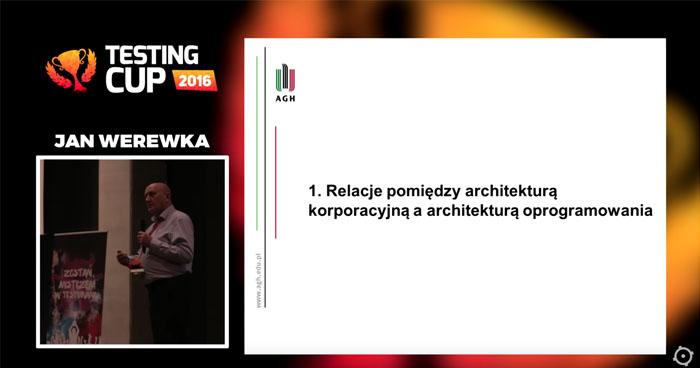 Relacje pomiędzy architekturą korporacyjną i architekturą oprogramowania w kontekście jakości systemów gier