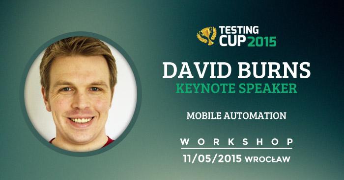 "Wolne miejsca na warsztaty ""Mobile Automation"" z Davidem Burnsem"