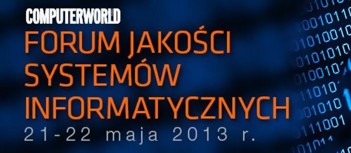 Rekomendacja D na Forum Jakości Systemów Informatycznych 2013