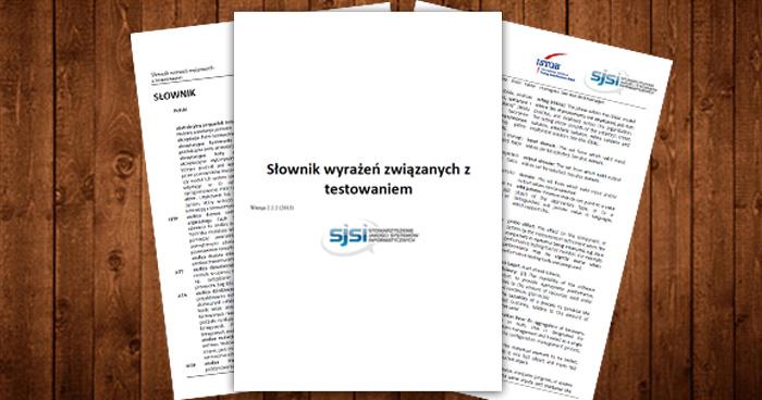 Jak czytać sylabus ISTQB? Słownictwo.