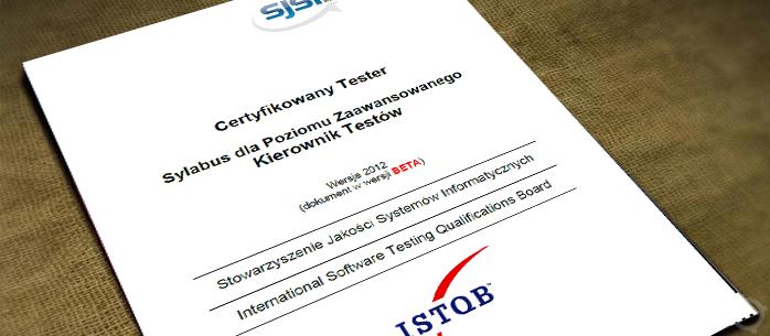 Pierwsza wersja sylabusa ISTQB Poziomu Zaawansowanego Kierownik Testów