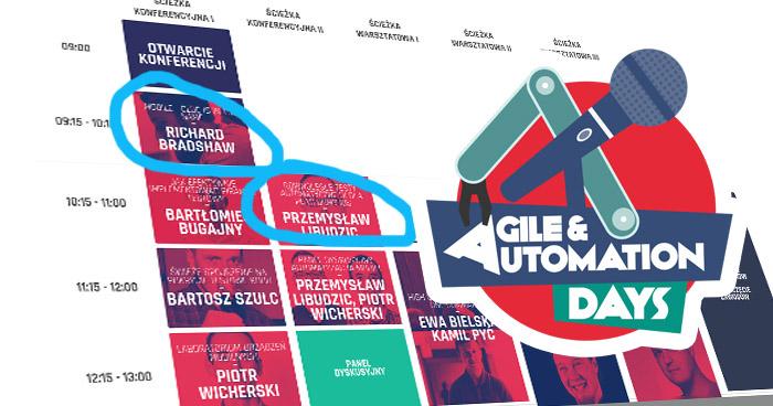 Typy na agendę Agile & Automation Days