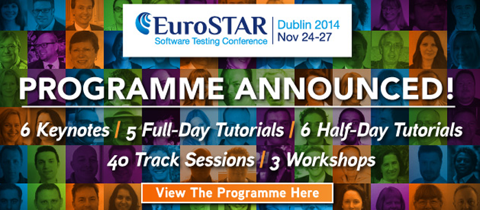 Agenda konferencji EuroSTAR 2014 już dostępna