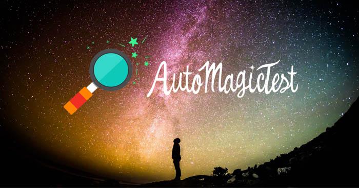 AutoMagicTest - pierwsza prezentacja