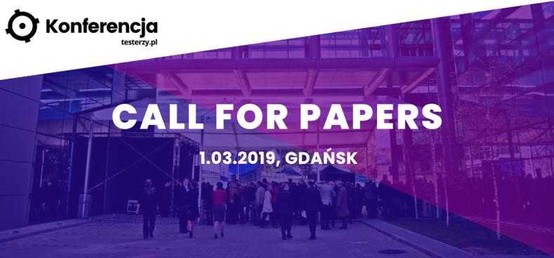 Konferencja testerzy.pl 2019. Zgłoś prelekcję!