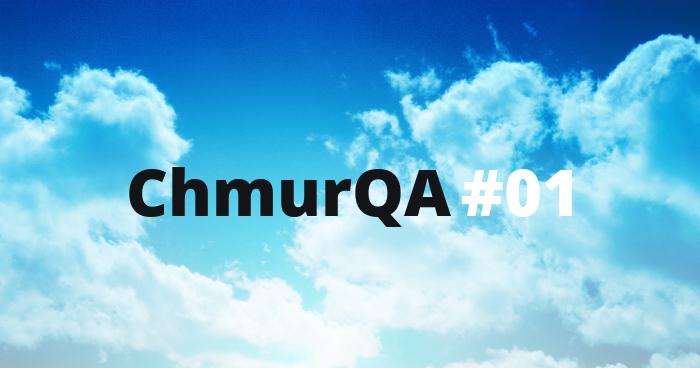 ChmurQA #1