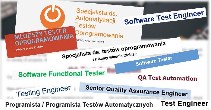 Czy automatyk testów to ciągle tester?