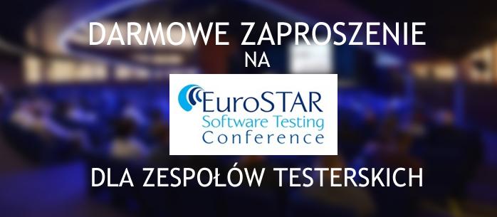 Darmowe wejście na Konferencję EuroSTAR 2013 dla zespołów