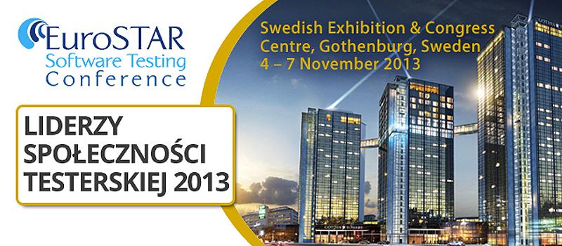 Liderzy społeczności testerskiej EuroStar 2013