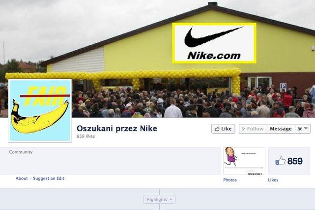 Defekt Nike