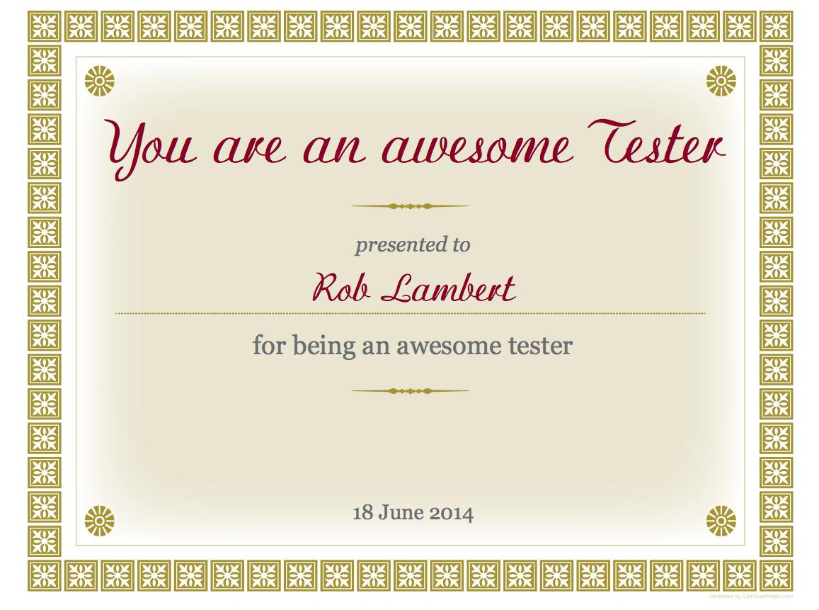 Certyfikacja testerska. Kolejny ważny głos
