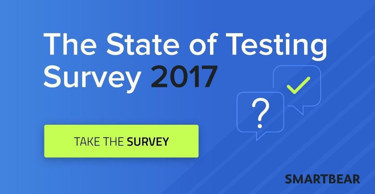 Wypełnij ankietę SmartBear o stanie testowania na świecie 2017