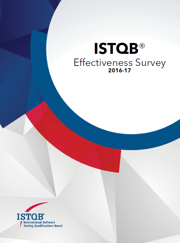 ISTQB Effectiveness Survey Report 2016-2017 - wyniki ankiety