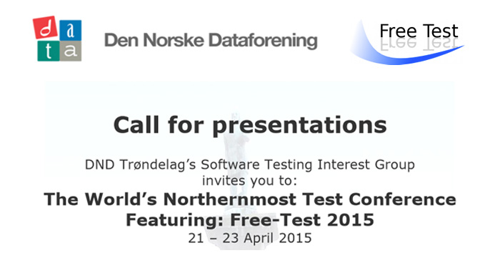 Free Test 2015 - Call for Papers