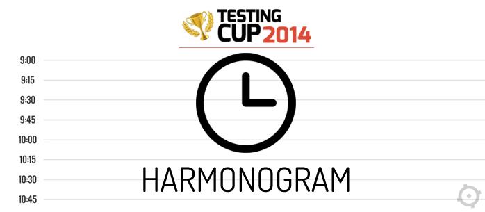 Znamy harmonogram konferencji TestingCup 2014