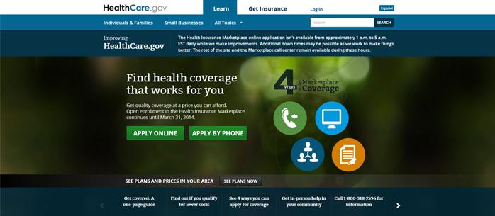 healthcare.gov - informatyczne nieporozumienie roku