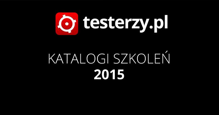 Katalogi szkoleń 2015