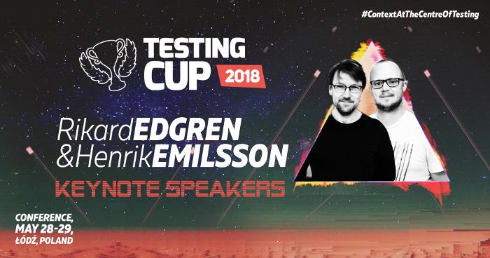 Rikard Edgren i Henrik Emilsson na TestingCup 2018!