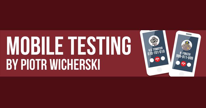 Wykład Piotrka Wicherskiego dla Ministerstwa Testowania