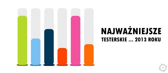 Najważniejsze testerskie wydarzenia 2013 roku. Wyniki