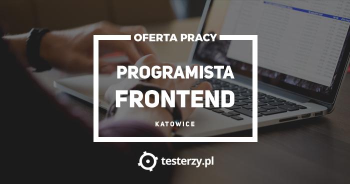 Oferta pracy: Programista Frontend