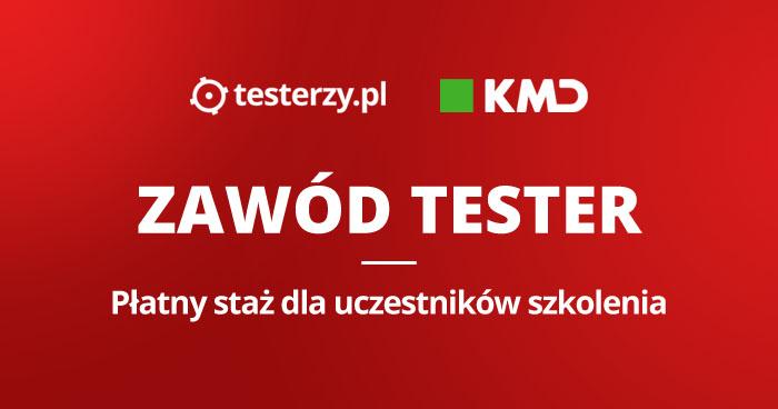 """Płatny staż dla uczestników szkolenia """"Zawód Tester"""""""