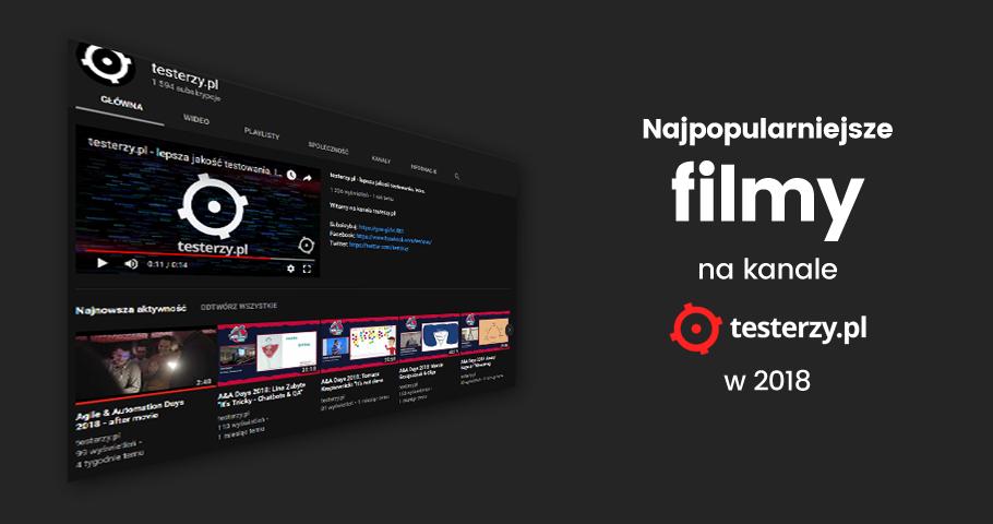 Najpopularniejsze filmy 2018 roku na kanale testerzy.pl