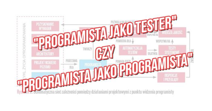 """""""Programista jako tester"""" czy """"Programista jako programista""""?"""