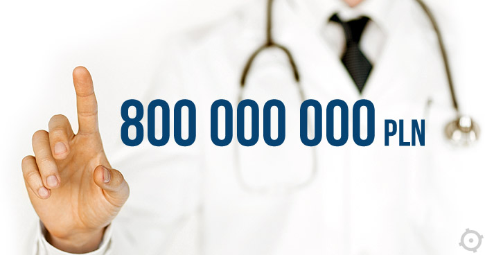 Projekt e-zdrowie. Zmarnowano 800 000 000 PLN?