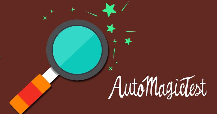 Projekt AutoMagicTest