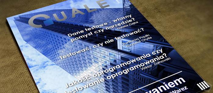 Quale - numer pierwszy nowego czasopisma dla testerów