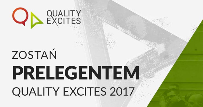 Quality Excites 2017 - Call for Papers