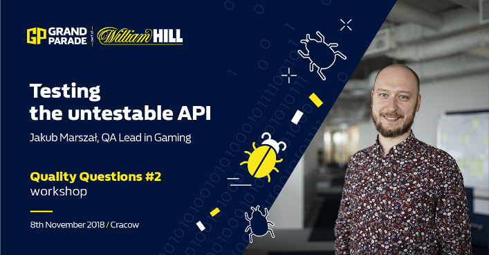 Quality Questions #2 workshop - testing the untestable API
