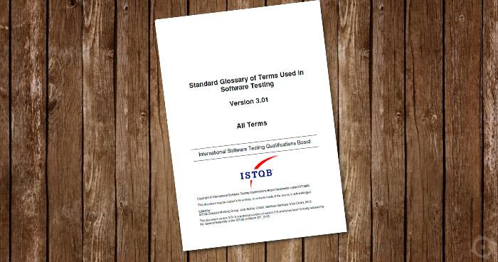 Słownik ISTQB - wersja 3.01