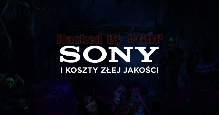Sony i koszty złej jakości