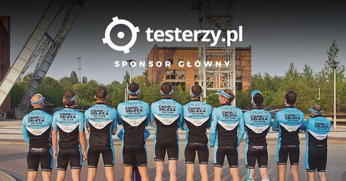 testerzy.pl sponsorem głównym drużyny CHOP ZE ŻELAZA TRI TEAM