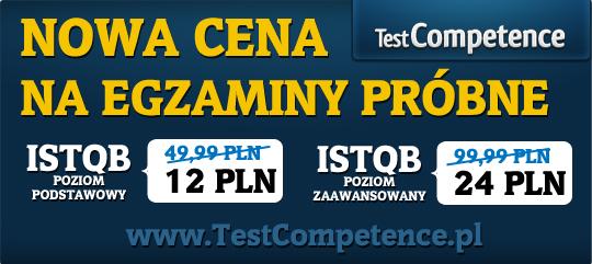 Nowa cena egzaminów próbnych ISTQB