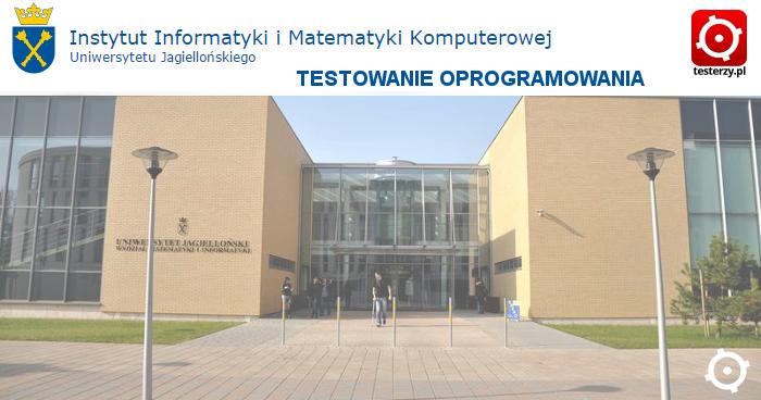 """Studia podyplomowe """"Testowanie oprogramowania"""" na Uniwersytecie Jagiellońskim"""