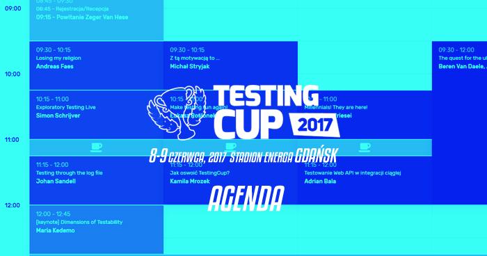 TestingCup 2017. Agenda opublikowana [aktualizacja]