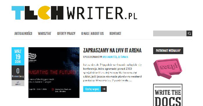 3. urodziny techwriter.pl