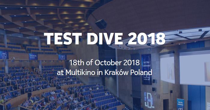 Test Dive 2018 już za nami!