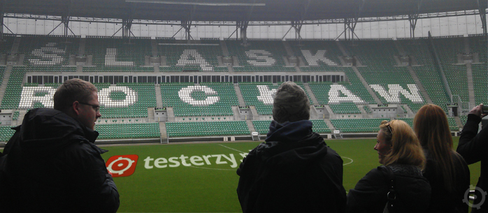 testerzy.pl na Stadione Miejskim we Wrocławiu
